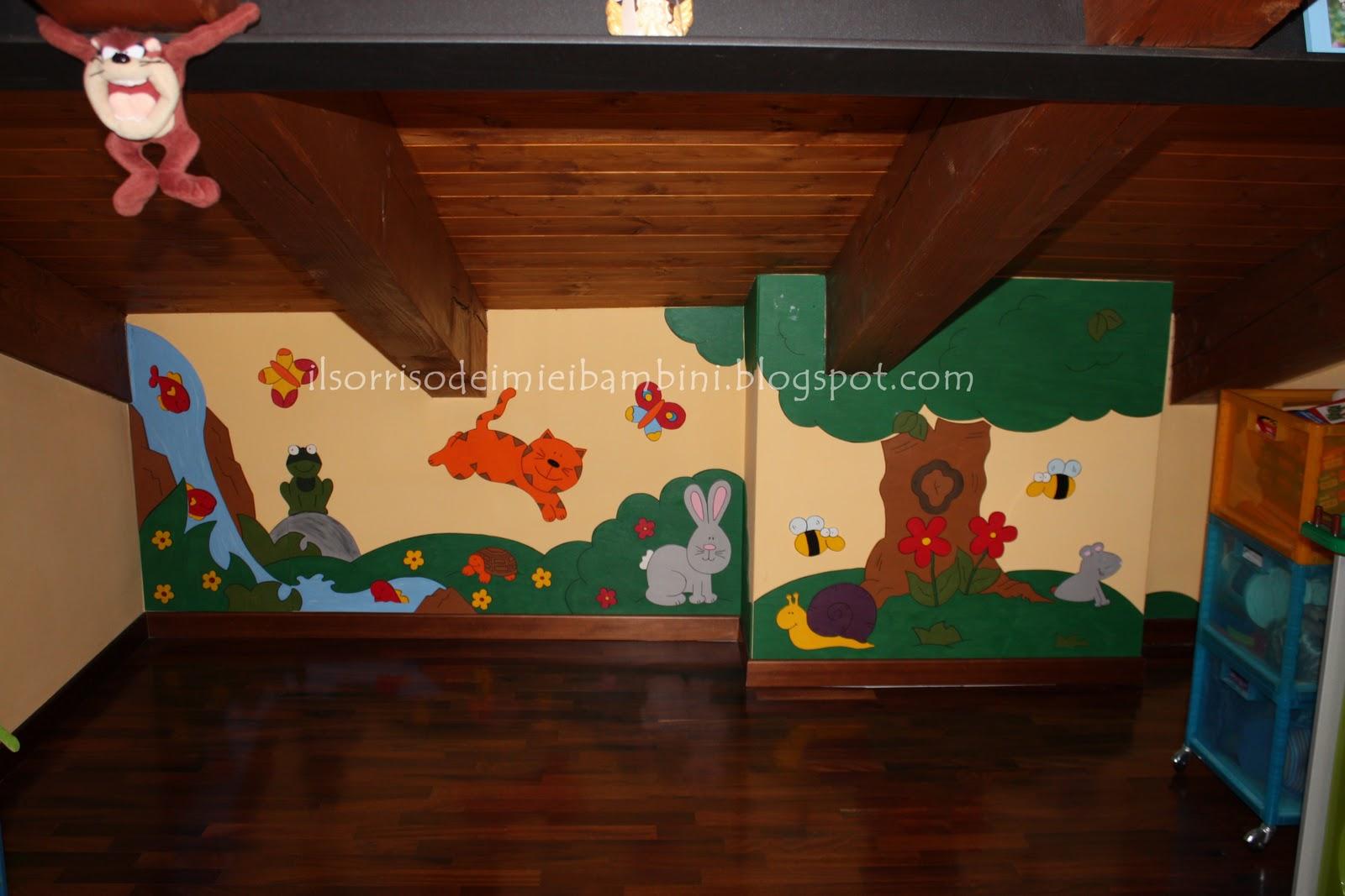 Decorazioni In Legno Per Bambini : Il sorriso dei miei bambini decorare la cameretta con il legno