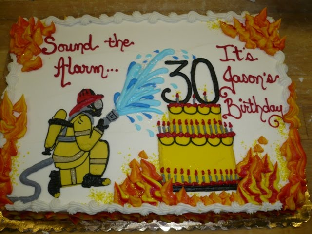 Leslies Cool Cakes From Stans Northfield Bakery Fireman Birthday