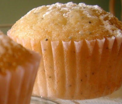 ... for a Year and Beyond: Lemon Poppy Seed Muffins with Citrus Glaze