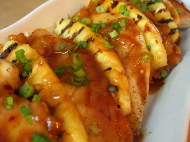 Dinners for a Year and Beyond: Grilled Pineapple Chicken