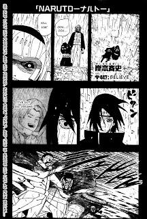 Naruto Manga 447