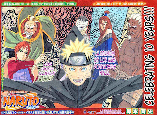 Naruto Manga 457 Español