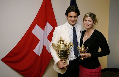 roger federer girlfriend 2008