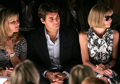is roger federer girlfriend
