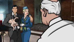 Archer FX Cartoon sneak preview
