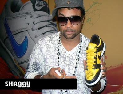 Nike Shoe marketing and advertising Shaggy