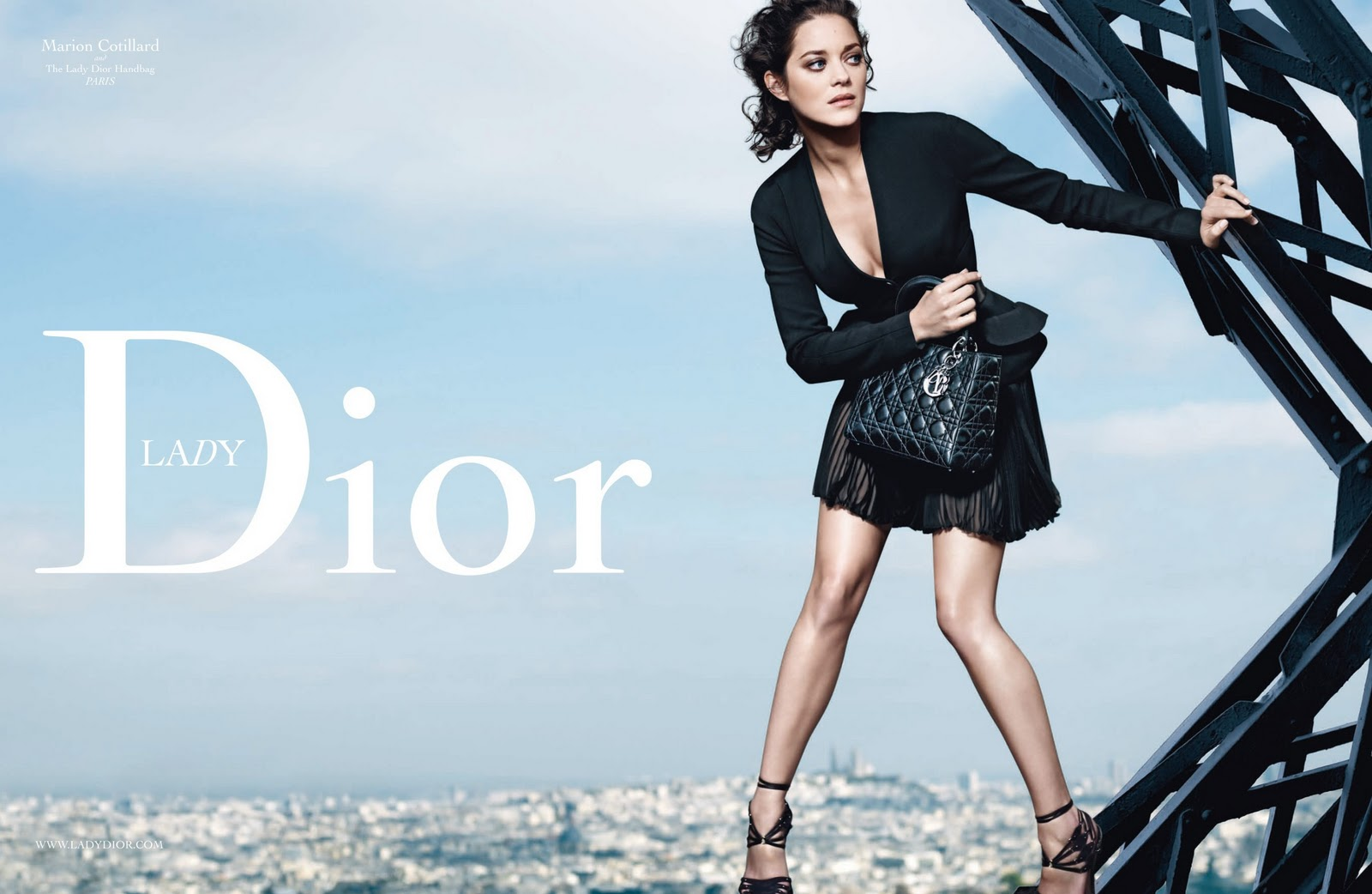 Fashion Squared: Lady Dior with Marion Cotillard