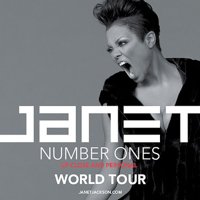 >News // Janet Jackson remonte sur scène pour son Number Ones, Up Close & Personal Tour