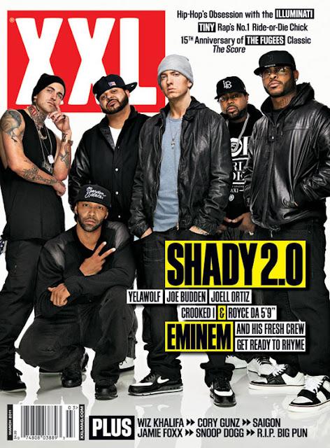 >News // Eminem, Slaughterhouse et Yelawolf à la une dans XXL