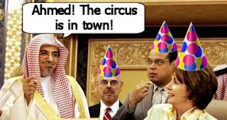 Pelosi Circus in Arabia
