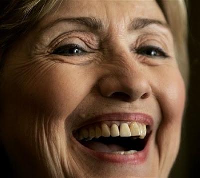 Hillary close up