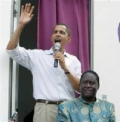 Barack Obama campaigns for Raila Odinga