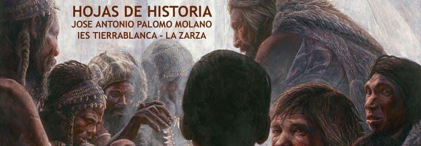 HOJAS DE HISTORIA