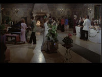 the reception in the castle