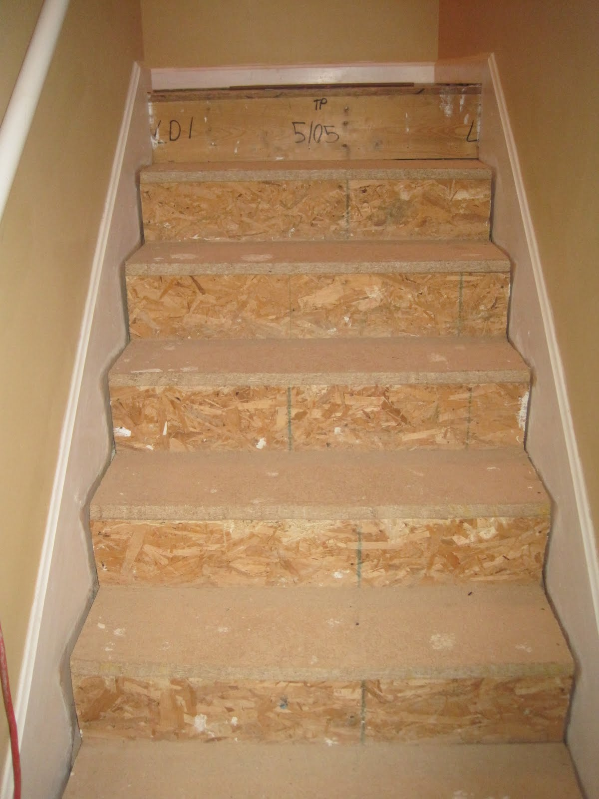 Laminate Stairs   Part 1
