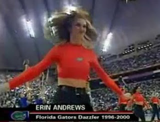 Erin Andrews as a Florida Dazzler
