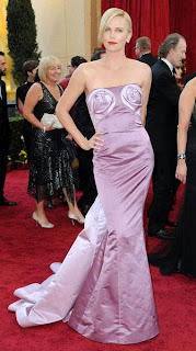 Charlize Theron's flowertits dress
