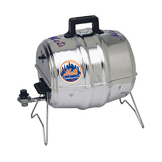 Mets keg grill