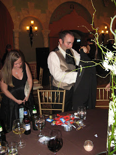 The Concierge gets caught hiding his stash