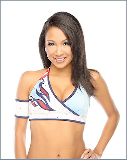 Melanie of the Tennessee Titans