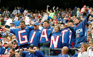 Giants fans are excited about their Super Bowl Champs