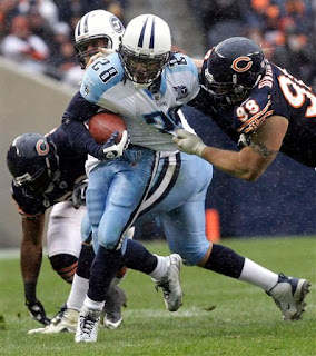 Chris Johnson couldn't escape the Bears grasp, but the Titans found another way to win