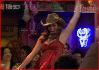Meadow Soprano (Jamie-Lynn Sigler rides a mechanical bull on How I met your mother