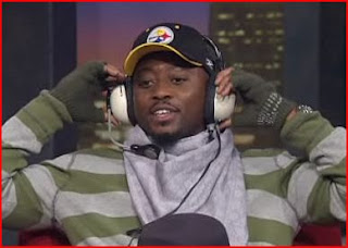Omar Epps dressed as Mike Tomlin