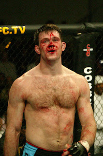 Forrest Griffin often gets motivated by the taste of his own blood