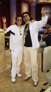 Daniel Negreanu dressed as Scotty Nguyen