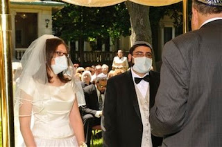 swine flu wedding