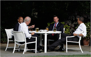Picture of the President's Beer Summit