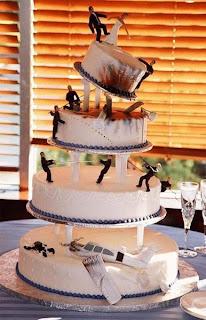 plane crash cake