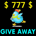 777$ Adgitize One Week Ad Giveaway