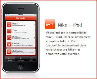 iPhone 3GS Nike+