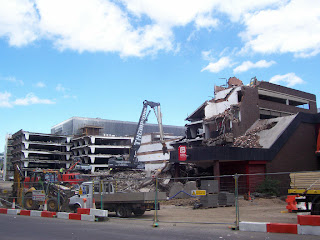 Eldon Square Demolition