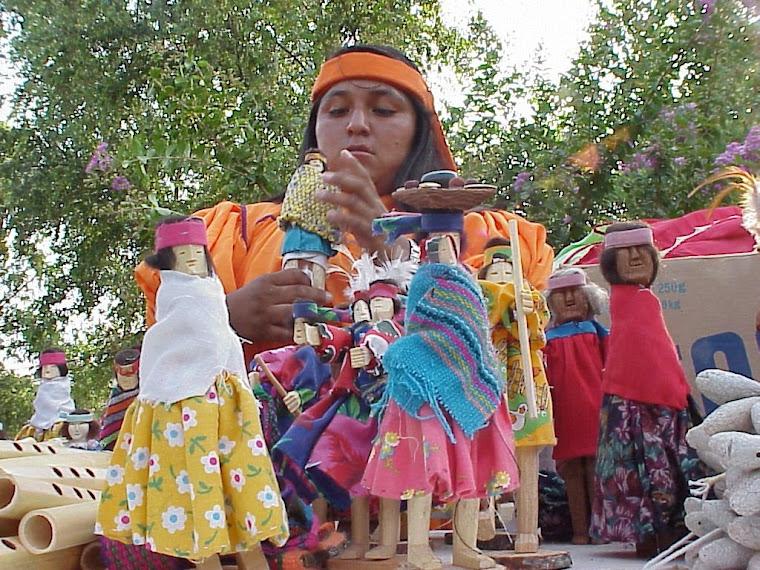 Indígena Tarahumara en la Isla de Orabá, Ciudad de Culiacán Rosales