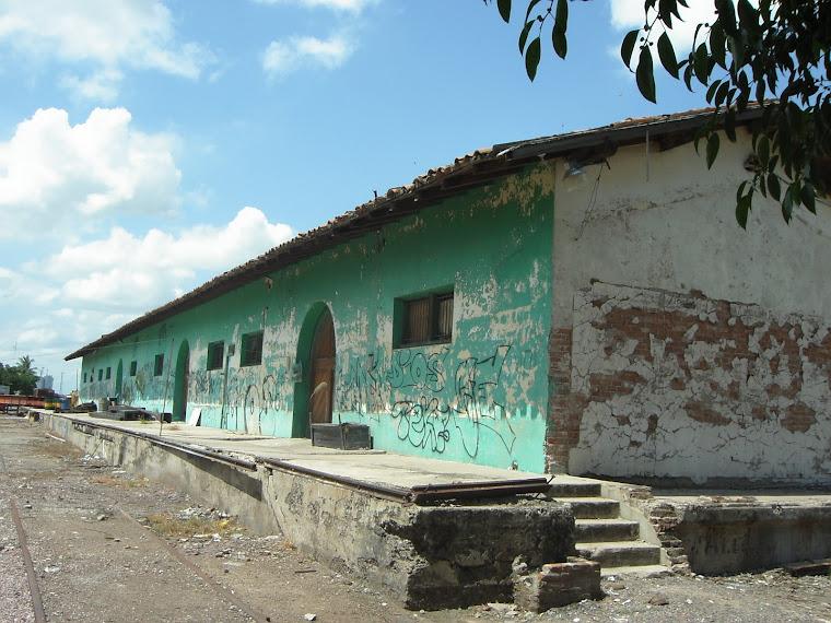 Antigua estación del Ferrocarril en Culiacán Rosales