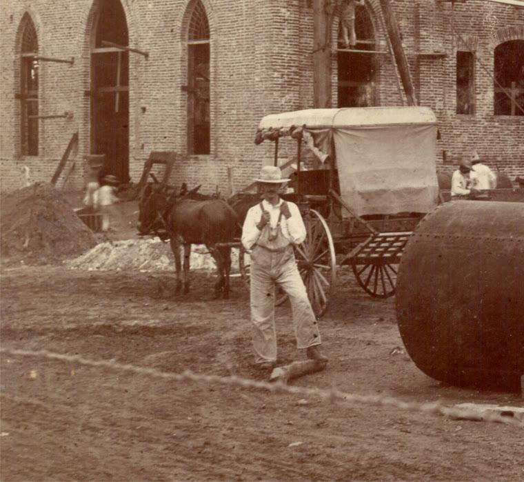 Antigua araña de a principios del siglo XX en Eldorado