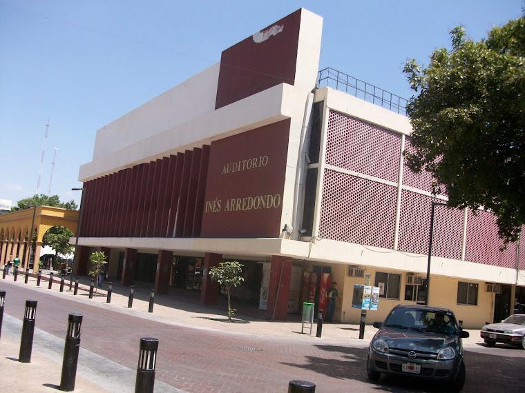 Auditorio Inés Arredondo de la ciudad de Culiacán