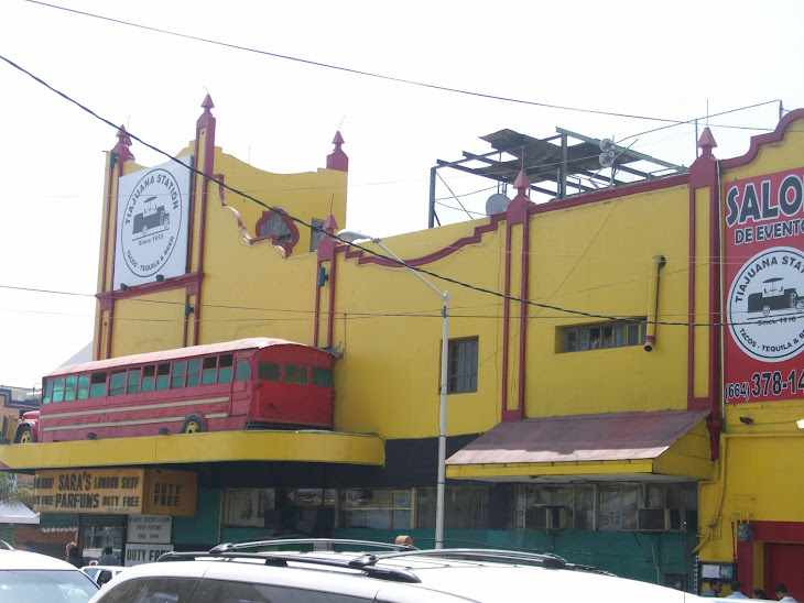 Tiajuana Station en el mero centro de Tijuana BC