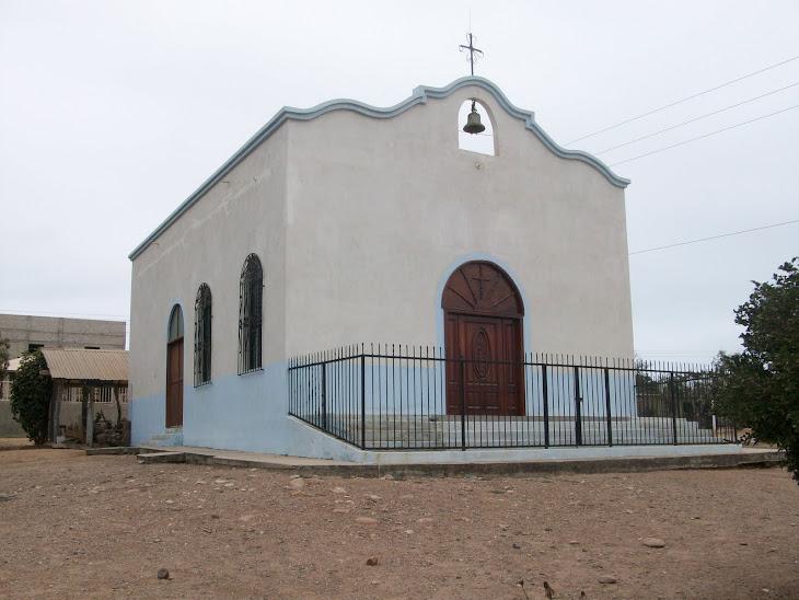 Iglesia del pueblo de Celestino Gazca, municipio de Elota