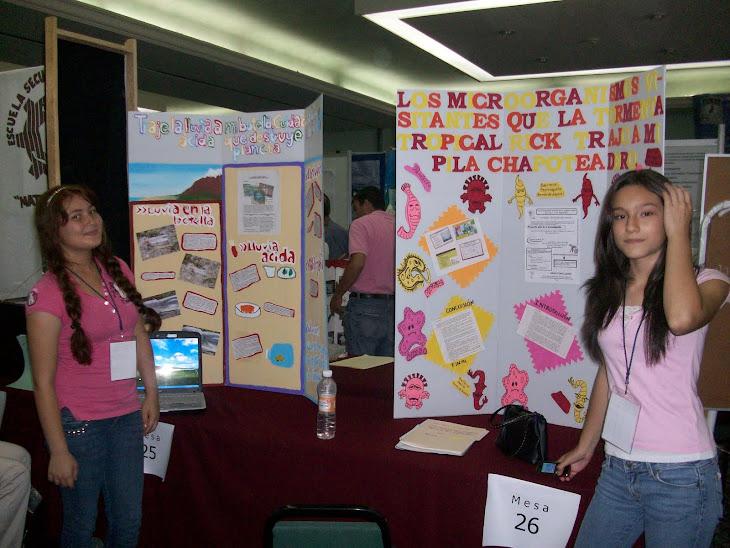 Participantes en Expo Ciencias Mazatlán