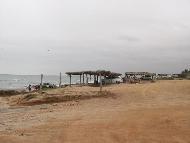 Refrescante playa de Celestino Gazca