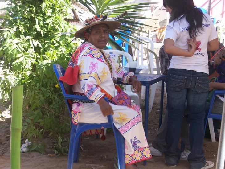 Indígena curandero del Nayart