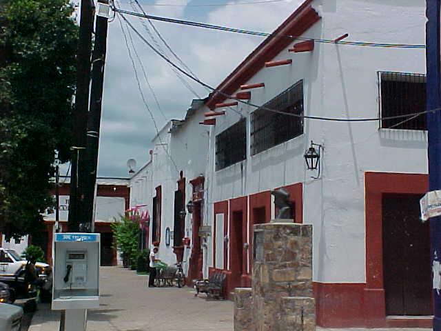 Calle típica del pueblo magíco de Cosalá