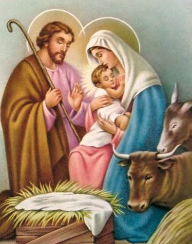 hail and blessed be the hour and moment - Christmas Novena