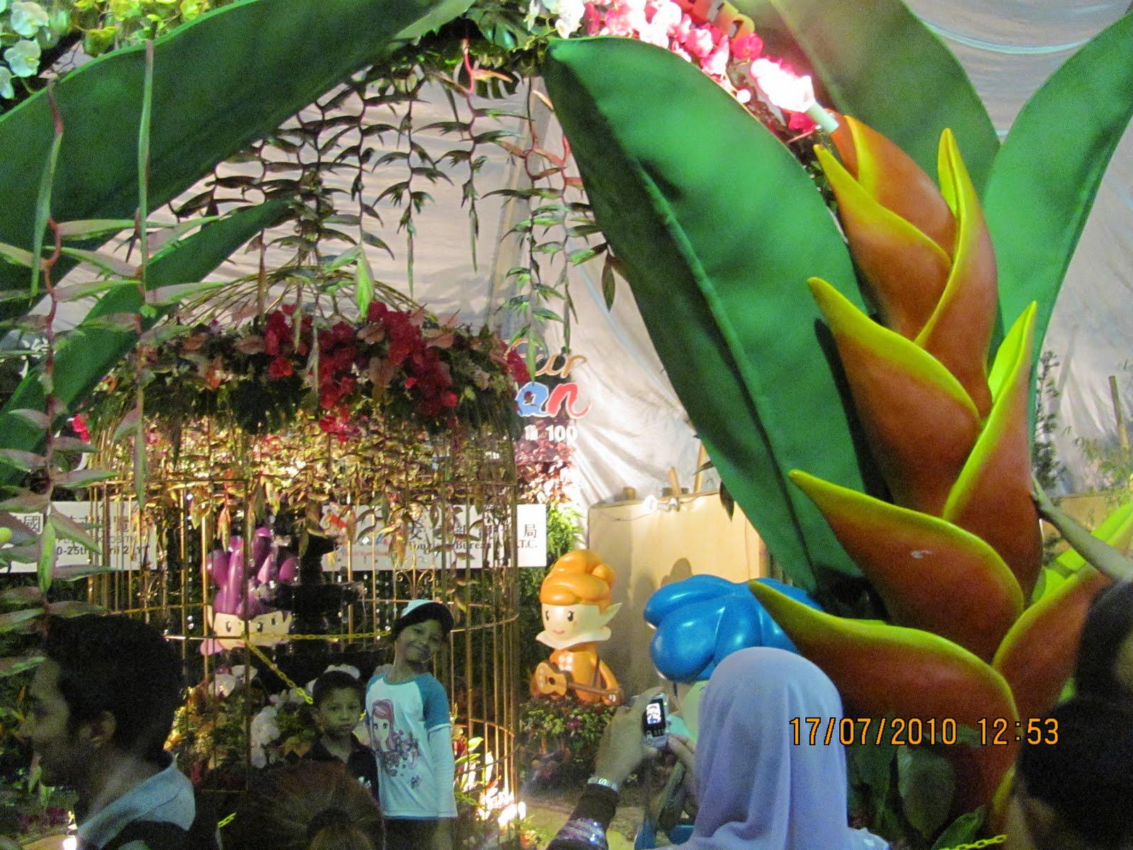 Putrajaya Flora Fest 2010 - Indoor (Part 3) | Whatever I see, hear ...