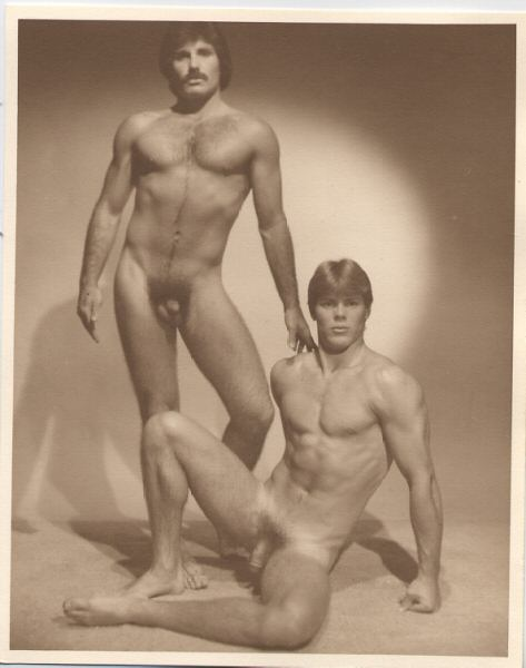 Vintage Nude Hippies Men