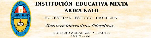 INSTITUCIÓN EDUCATIVA MIXTA AKIRA KATO